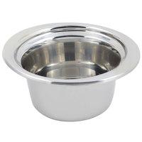 Bon Chef 5250 10 inch x 9 inch x 5 inch Stainless Steel 2 Qt. Plain Design Casserole Food Pan