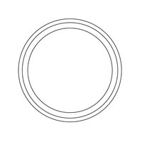 T&S 017698-45K Waste Valve Body Seal - 2/Pack
