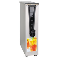 Bunn 43900.0002 TD3T-N 3.5 Gallon Narrow Iced Tea Dispenser with Solid Lid