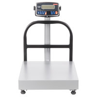 Tor Rey EQB-I 100/200 200 lb. Digital Counter-Top Receiving Scale with Tower Display