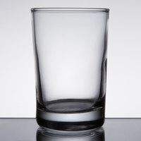 Anchor Hocking 3165U Regency 5 oz. Heavy Base Side Water / Beer Sampler Glass   - 72/Case