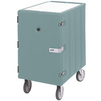 Cambro 1826LBCSP401 Camcart Slate Blue Single Compartment Mobile Cart for 18 inch x 26 inch Food Storage Boxes - With Security Package