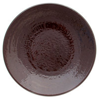 Elite Global Solutions D814RR Pebble Creek Aubergine-Colored 8 1/4 inch Round Plate