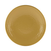Elite Global Solutions D10RR Pebble Creek Olive Oil-Colored 10 inch Round Plate - 6/Case