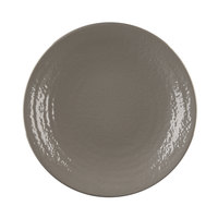 Elite Global Solutions D10RR Pebble Creek Mushroom-Colored 10 inch Round Plate - 6/Case