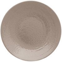 Elite Global Solutions D10RR Pebble Creek Mushroom-Colored 10 inch Round Plate
