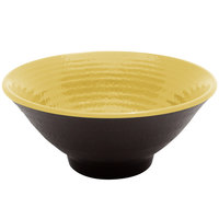 Elite Global Solutions D1005RR Pebble Creek Olive Oil-Colored 14 oz. Bowl - 6/Case