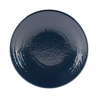 Elite Global Solutions D814RR Pebble Creek Lapis-Colored 8 1/4 inch Round Plate - 6/Case