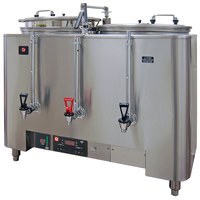 Grindmaster PB-8103E PrecisionBrew Barista Series Twin 3 Gallon Automatic Coffee Urn - 120/208V
