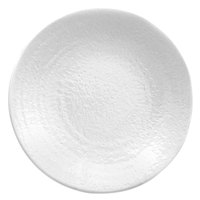 Elite Global Solutions D814RR Pebble Creek White 8 1/4 inch Round Plate