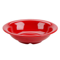 Thunder Group CR5716PR Pure Red 18 oz. Melamine Soup Bowl - 12/Pack