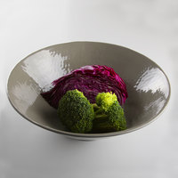 Elite Global Solutions D1010RR Pebble Creek Mushroom-Colored 1.72 Qt. Bowl - 6/Case