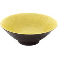 Elite Global Solutions D1007RR Pebble Creek Olive Oil-Colored 24 oz. Bowl - 6/Case