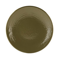 Elite Global Solutions D117RR Pebble Creek Lizard-Colored 11 7/8 inch Round Plate - 6/Case