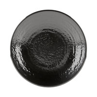 Elite Global Solutions D814RR Pebble Creek Black 8 1/4 inch Round Plate - 6/Case
