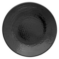 Elite Global Solutions D814RR Pebble Creek Black 8 1/4 inch Round Plate