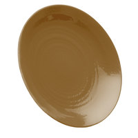Elite Global Solutions D9RR Pebble Creek Tapenade-Colored 9 inch Round Plate