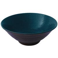 Elite Global Solutions D1007RR Pebble Creek Lapis-Colored 24 oz. Bowl