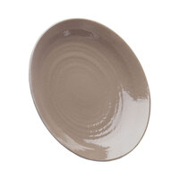 Elite Global Solutions D638RR Pebble Creek Mushroom-Colored 6 3/8 inch Round Plate