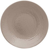 Elite Global Solutions D638RR Pebble Creek Mushroom-Colored 6 3/8 inch Round Plate - 6/Case