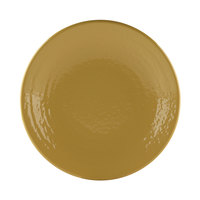 Elite Global Solutions Pebble Creek D9RR Olive Oil-Colored 9 inch Round Plate - 6/Case