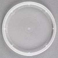 Pactiv/Newspring DELItainer TL500Y Translucent Tamper Resistant Lid   - 480/Case
