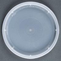 Newspring DELItainer TL500Y Translucent Tamper Resistant Lid - 480 / Case