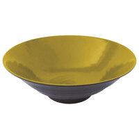 Elite Global Solutions D1008RR Pebble Creek Olive Oil-Colored 40 oz. Bowl