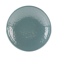 Elite Global Solutions D638RR Pebble Creek Abyss-Colored 6 3/8 inch Round Plate - 6/Case