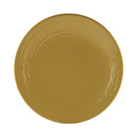 Elite Global Solutions D117RR Pebble Creek Olive Oil-Colored 11 7/8 inch Round Plate - 6/Case