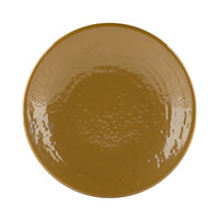 Elite Global Solutions D638RR Pebble Creek Tapenade-Colored 6 3/8 inch Round Plate - 6/Case