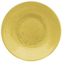 Elite Global Solutions D638RR Pebble Creek Olive Oil-Colored 6 3/8 inch Round Plate - 6/Case