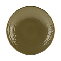 Elite Global Solutions D9RR Pebble Creek Lizard-Colored 9 inch Round Plate - 6/Case
