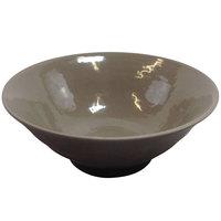 Elite Global Solutions D1008RR Pebble Creek Mushroom-Colored 40 oz. Bowl - 6/Case