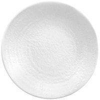 "Elite Global Solutions D10RR Pebble Creek White 10"" Round Plate"