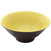 Elite Global Solutions D1006RR Pebble Creek Olive Oil-Colored 20 oz. Bowl - 6/Case