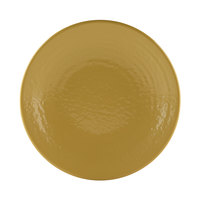 Elite Global Solutions D814RR Pebble Creek Olive Oil-Colored 8 1/4 inch Round Plate - 6/Case