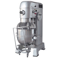 Eurodib M60A 220ETL 60 Qt. Commercial Planetary Floor Mixer with Wheels - 208V, 3 1/2 hp