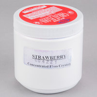 Great Western Great Floss 1 lb. Container Pink Strawberry Cotton Candy Concentrate Sugar   - 12/Case