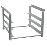 Advance Tabco TA-45 7 1/2 inch Table Mount Aluminum Glass Rack Slides