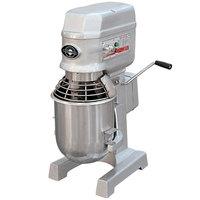 Eurodib M10 ETL 10 qt. Commercial Planetary Stand Mixer - 120V, 3/4 HP