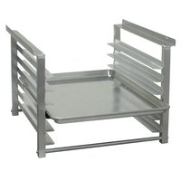 Advance Tabco TA-44 Table Mount Aluminum Pan Rack Slides