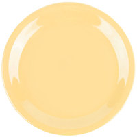 GET NP-6-SQ Squash Diamond Harvest 6 1/2 inch Rolled Edge Plate - 48/Case