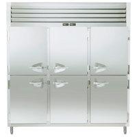 Traulsen ADT332WUT-HHS 69.3 Cu. Ft. Three Section Half Door Reach In Refrigerator / Freezer - Specification Line