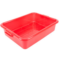 Vollrath 1511-C02 Traex® Color-Mate Red Perforated Drain Box - 20 inch x 15 inch x 5 inch