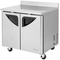 Turbo Air TWR-36SD Super Deluxe 36 inch Worktop Refrigerator