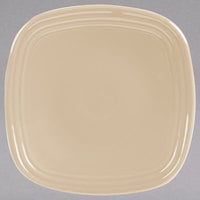 Homer Laughlin 921330 Fiesta Ivory 7 3/8 inch Square China Salad Plate - 12/Case