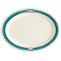 GET OP-950-FP Freeport 9 3/4 inch Oval Platter - 24/Case
