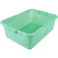 Vollrath 1527-C19 Traex® Color-Mate Green Food Storage Box - 20 inch x 15 inch x 7 inch