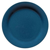 GET BF-700-TB Texas Blue 7 1/4 inch Plate - 24 / Case
